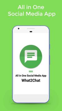 What2Chat poster