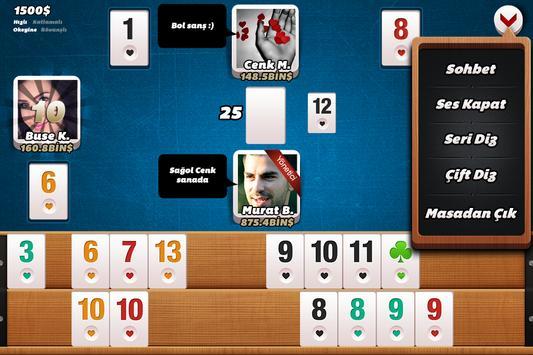 Tekel Okey screenshot 2