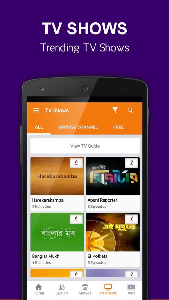 Bengali Mobile TV for Android - APK Download