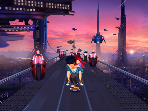 Lost in Harmony screenshot 1