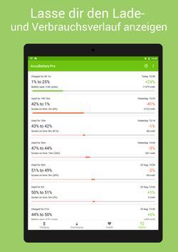 AccuBattery - Akku & Batterie Screenshot 11