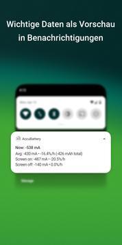 AccuBattery - Akku & Batterie Screenshot 6