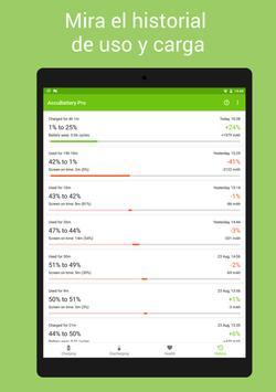 AccuBattery - Batería captura de pantalla 11