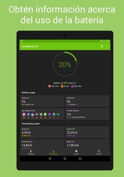 AccuBattery - Batería captura de pantalla 8
