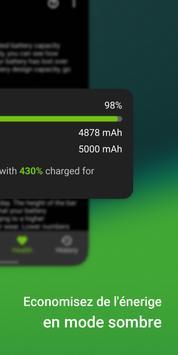 AccuBattery - Batterie capture d'écran 3