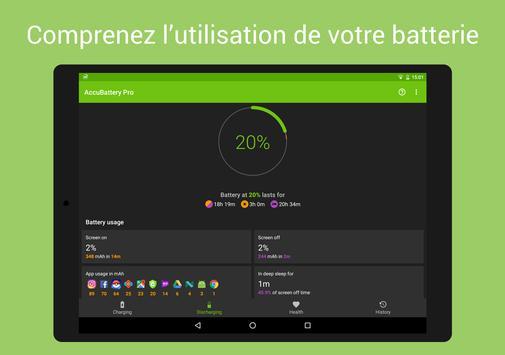 AccuBattery - Batterie capture d'écran 14