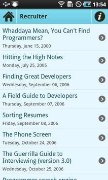 Joel on Software - Android App screenshot 2