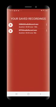 Avaz Voice Recorder screenshot 2