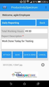 ProductivitySpectrum screenshot 4