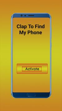 Clap To Find My Self Phone(Clapping to find phone) screenshot 3
