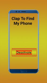 Clap To Find My Self Phone(Clapping to find phone) screenshot 4