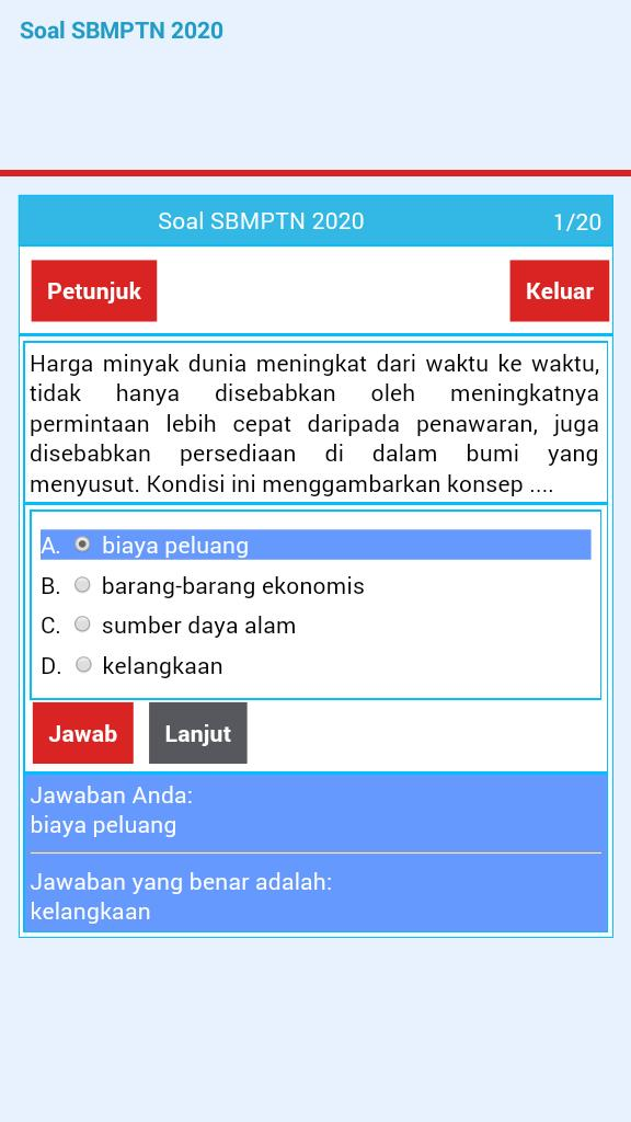 Soal Sbmptn 2020 For Android Apk Download