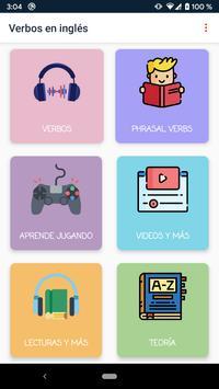 Verbos en Inglés screenshot 1