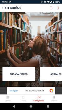 Verbos en Inglés screenshot 3