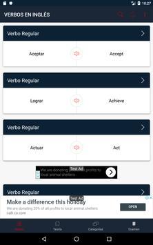 Verbos en Inglés screenshot 8