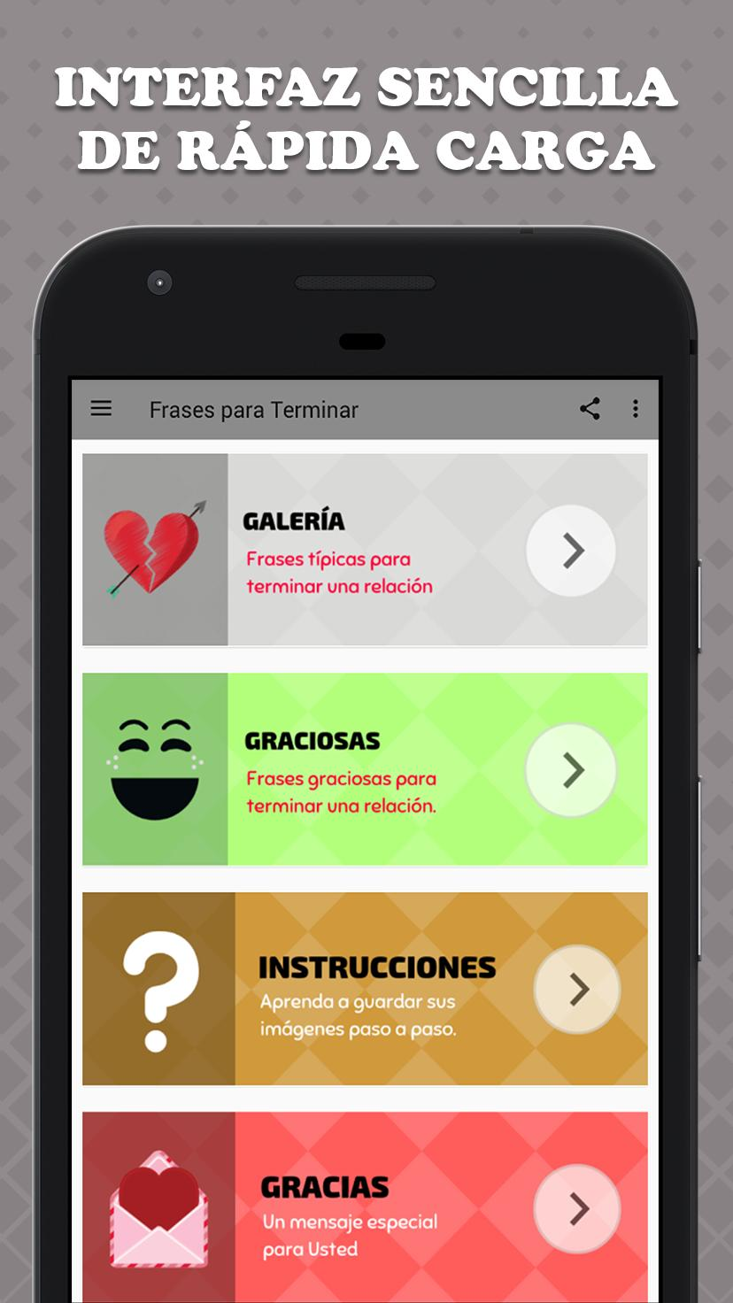 Frases Para Terminar For Android Apk Download