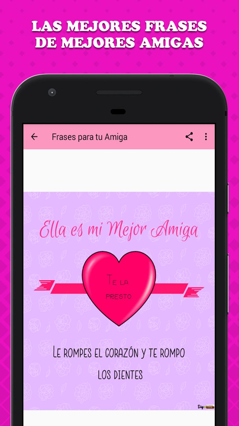 Imagenes De Amigas Con Frases For Android Apk Download