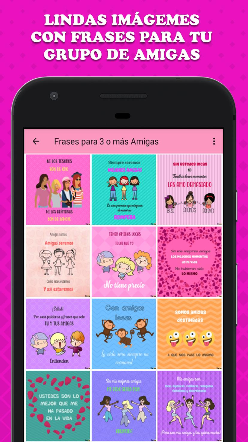Imagenes De Amigas Con Frases For Android Apk Download