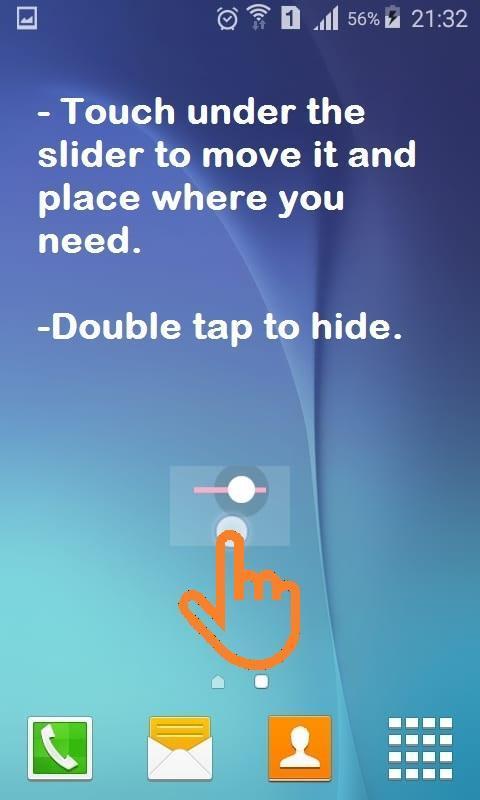 Floating Media Volume Slider for Android - APK Download