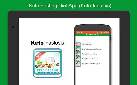 Keto Fasting Diet App (Keto-fastosis) poster