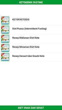 Keto Fasting Diet App (Keto-fastosis) screenshot 1