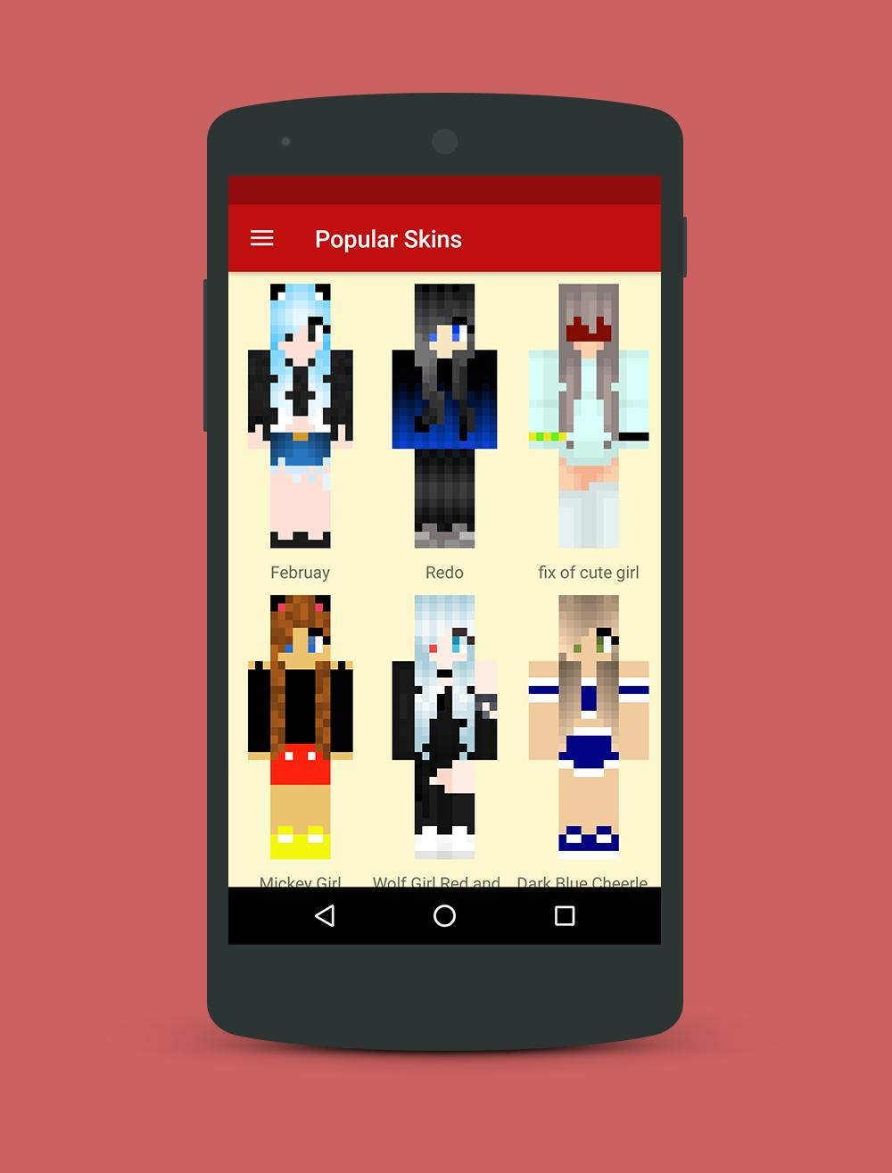 Minecraft Skins For Girls Cool For Android Apk Download