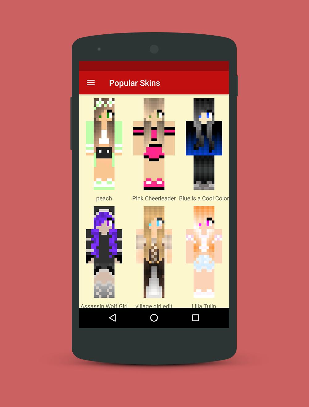 Minecraft Skins for Girls Cool for Android - APK Download