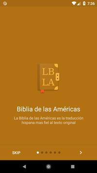 Biblia de las Americas LBLA постер