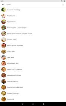 Free Recipes and Cooking captura de pantalla 17