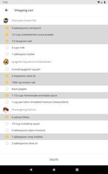 Free Recipes and Cooking captura de pantalla 10