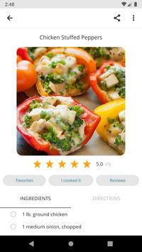 Free Recipes and Cooking captura de pantalla 2