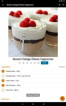 Cottage Cheese Recipes स्क्रीनशॉट 8