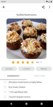 Easy Recipes 截图 2