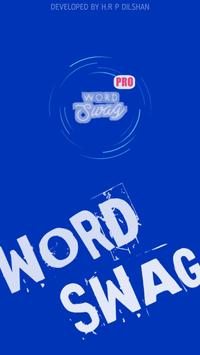 Word STYLISH Swag Free poster