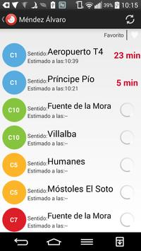 Tiempo Cercanias Madrid screenshot 1