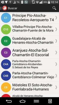 Tiempo Cercanias Madrid screenshot 5