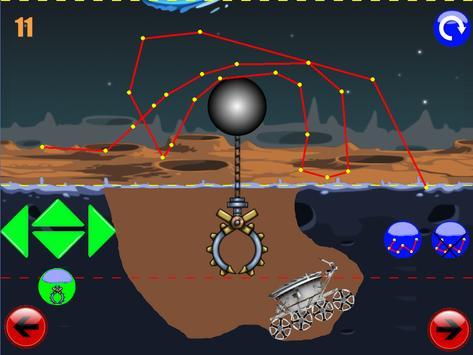 физическая головоломка игра : луноход 1 screenshot 11