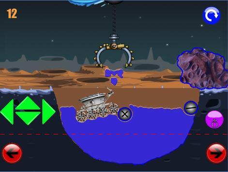 физическая головоломка игра : луноход 1 screenshot 12
