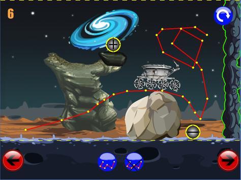 физическая головоломка игра : луноход 1 screenshot 1
