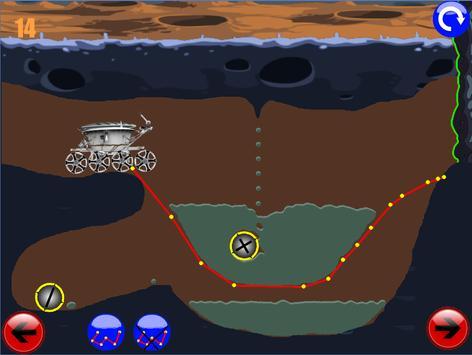 физическая головоломка игра : луноход 1 screenshot 5