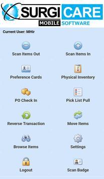 SurgiCare Inventory Mobile screenshot 1