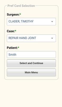 SurgiCare Inventory Mobile screenshot 2