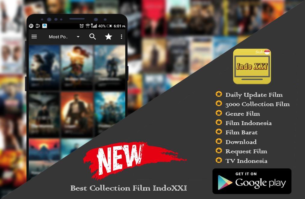 INDOXXI Lite | LK21 - Nonton Film & TV Online para Android - APK Baixar