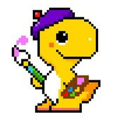 Dino Fun - Color By Numer icon