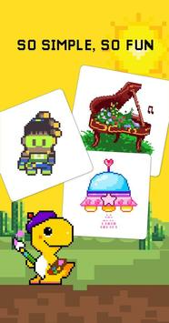 Dino Fun - Color By Numer screenshot 13