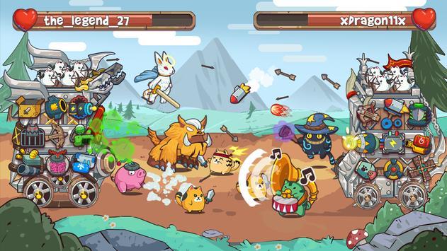 Cat'n'Robot: Idle Defense - Cute Castle TD PVP screenshot 5