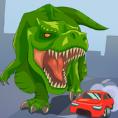 Jurassic Dinosaur: City rampage icon