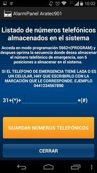 AlarmPanel Aratec901 Lite screenshot 5