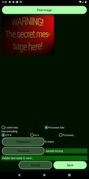 Total Recode (text processing & steganography) screenshot 6