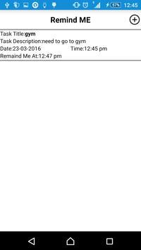 ReminderAPP screenshot 1